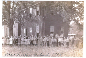 New Boston Elementary School 1908