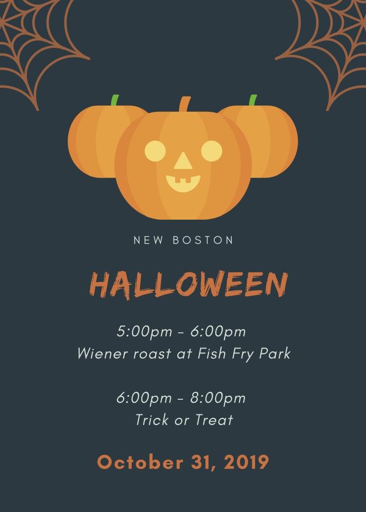 Elephant Orange Spider Web Halloween Illustration Halloween Flyer.jpg